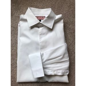 Thomas Pink Marcella White Evening Shirt 17-35